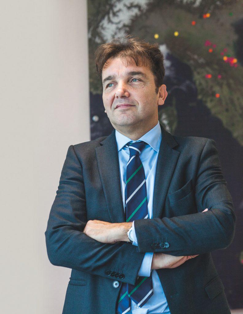 Carlo Damonte, presidente da sei anni di Caviro