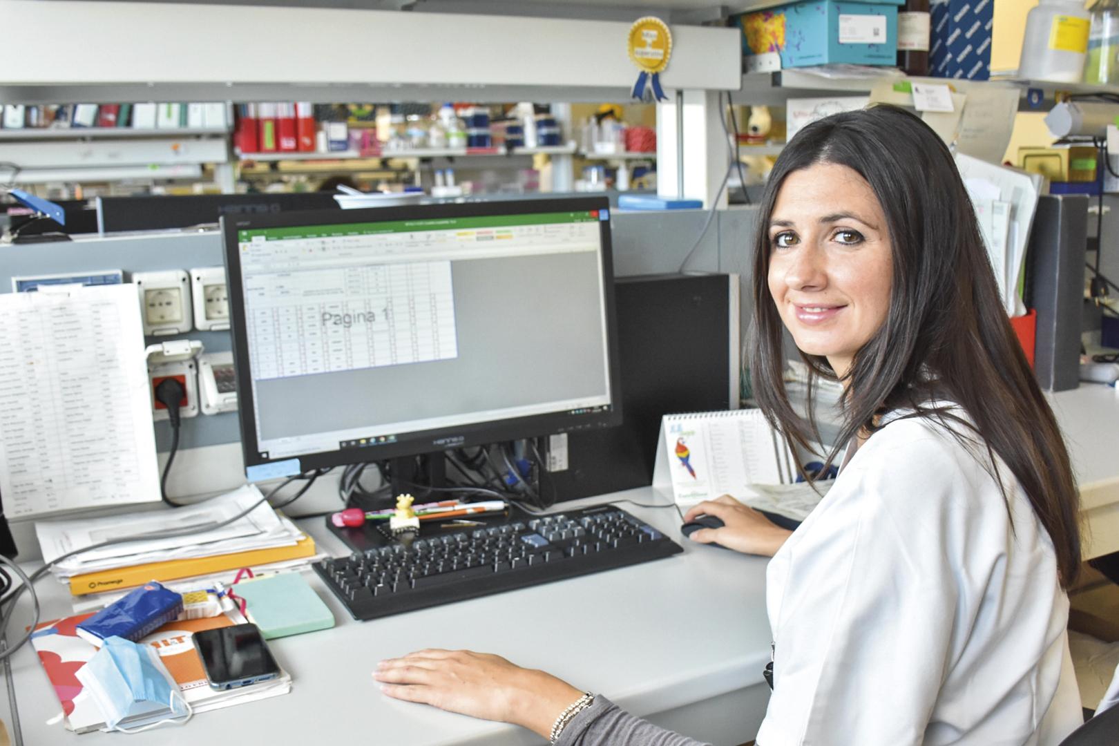La ricercatrice Giorgia Gurioli