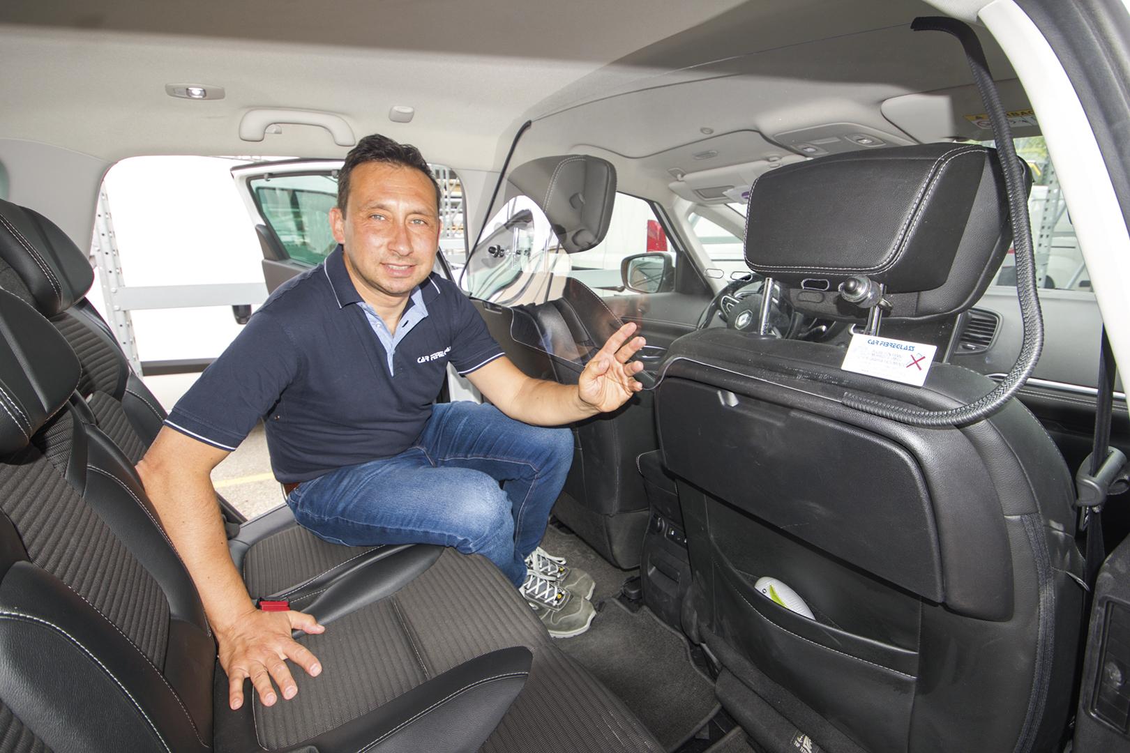 Luca Barboni della CAR FIBRAGLAS