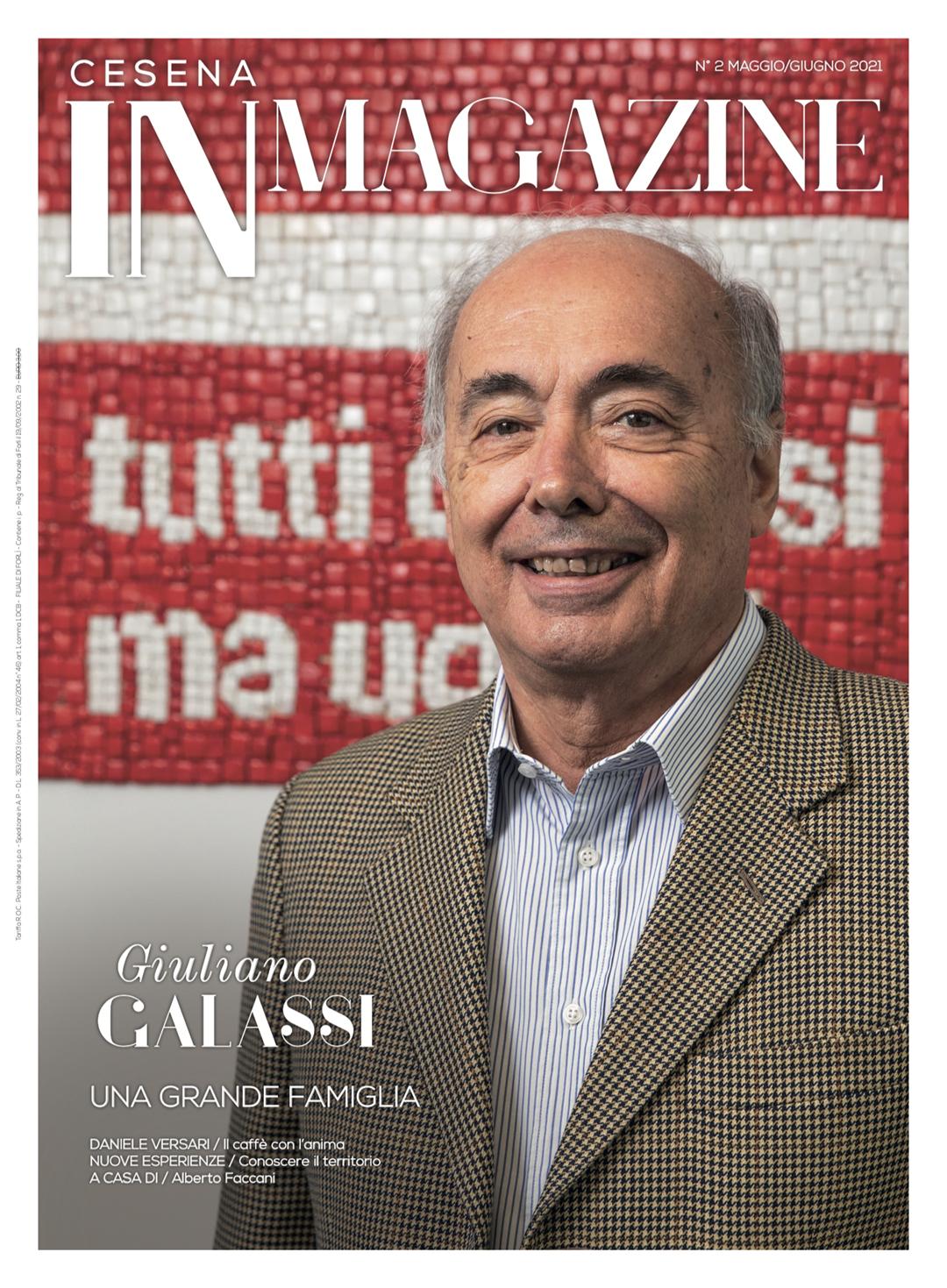 Giulianno Galassi - Cesena IN Magazine n. 2/2021