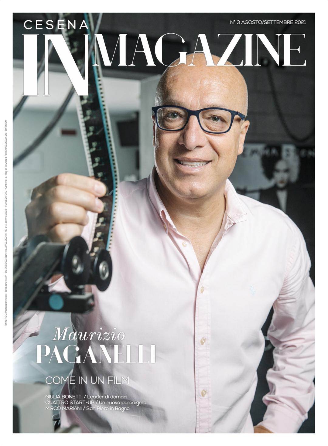 Maurizio Paganelli in copertina su Cesena IN Magazine 3/2021