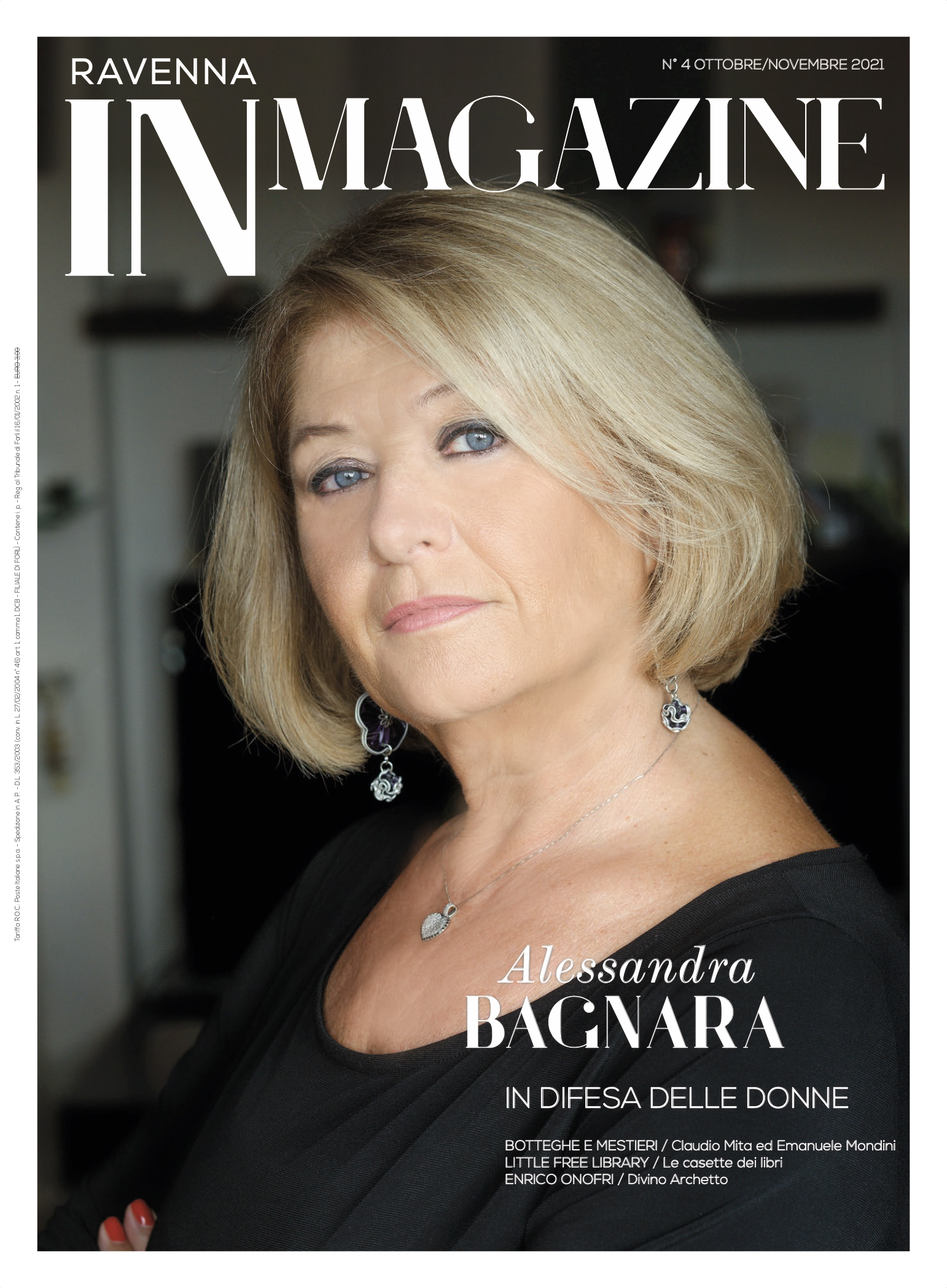 Ravenna IN Magazine 04-2021: in copertina, Alessandra Bagnara